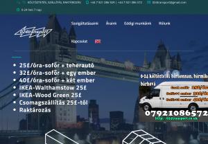 London költöztetés