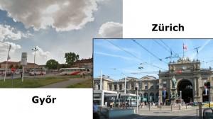Svájc Zürich busz